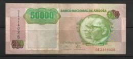ANGOLA . 50.000 ESCUDOS . 1993 . - Angola