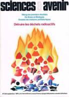 Sciences Et Avenir  N°355  Sep 1976:Maisons Préhistorique Détruire Les Dechets Radioactifs - Science