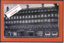 Carte Postale  Royaume-Uni   Liverpool  Hotel St-George Très Beau Plan - Liverpool