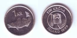Iceland 1 Krona 1999 - Island