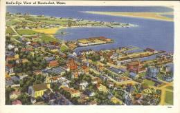 Etr - USA - NANTUCKET - Bird's Eye View Of Nantucket, Mass - Nantucket