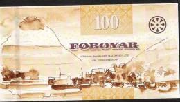 FAEROE   P25b ?  100  KRONUR   2011 DATE 2011    UNC. - Féroé (Iles)