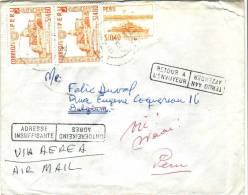Lettre Du Pérou Vers La Belgique Du 18/7/1968 Avec Cachets Adresse Insuffisante - Retour à L´envoyeur - Peru