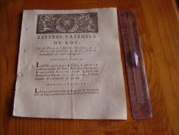 Louis XVI : 1790 : Lettres Patentes Du Roi Qui Prohibent Les Voeux Monastiqes De L'un &  L'autre Sexe . Gravure - Gesetze & Erlasse