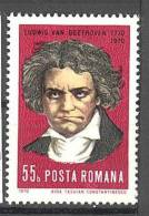 Roumanie: Yvert N° 2577**; MNH; Beethoven; LIQUIDATION!!! A PROFITER!!! - 1948-.... Republics