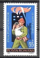 Roumanie: Yvert N° 3296**; MNH; Pompiers; LIQUIDATION!!! A PROFITER!!! - 1948-.... Republics