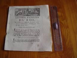 Louis XVI : 1790 : Lettres Patentes Du Roi Sur Les Condamnations Prononcées Pour Délits Et Crimes; Corps Du Supplicié... - Gesetze & Erlasse
