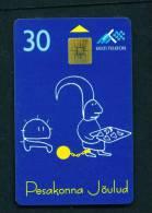 ESTONIA - Chip Phonecard As Scan - Estonie