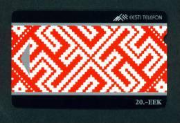 ESTONIA - Magnetic Phonecard As Scan - Estonia