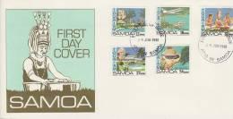 Samoa 1981 Tourism FDC - Samoa