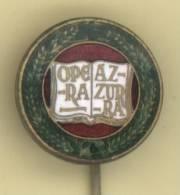 REGNO / FASCISMO Distintivo Gruppo Nazionalisti OPERA AZZURRA - Originale - Insignes & Rubans