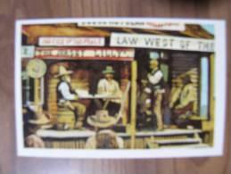 CARTE EDITION WILLIAMS - LA CONQUETE DE L´OUEST - 1972 - Edition Française - N°267 LA LOI A L´OUEST DU PECOS - Autres Collections