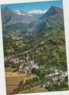 Cpsm    65 Hautes Pyrenees Villelongue Vue Aerienne - Autres Communes
