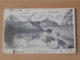 CPA - 18 -Saint Amand Montrond - Le Pont Paquet - Saint-Amand-Montrond