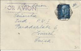 BILBAO CC CON MAT CORREO AEREO HEXAGONAL - Airmail