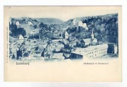 Pfaffenthal Et Siechehof, Luxembourg, 1900-1910s - Luxemburg - Town