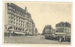 Place De La Gare, Luxembourg, 1900-1910s - Cartes Postales