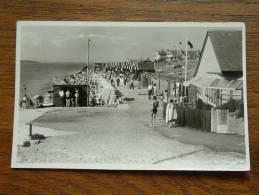 GURNARD THE ESPLANADE - Anno 1955 ( Fotokaart Cowes - Zie Foto Voor Details ) !! - Angleterre
