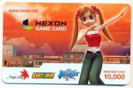 Nexon Card For Game Online  U.S.A.,  Card For Colletion Without Value # 246 - Gift Cards