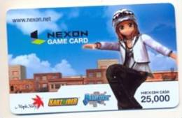 Nexon Card For Game Online  U.S.A.,  Card For Colletion Without Value # 247 - Gift Cards