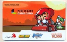 Nexon Card For Game Online  U.S.A.,  Card For Colletion Without Value # 248 - Gift Cards