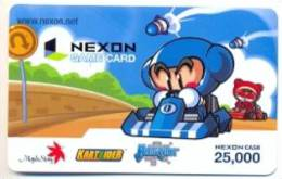Nexon Card For Game Online  U.S.A.,  Card For Colletion Without Value # 249 - Gift Cards