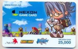 Nexon Card For Game Online  U.S.A.,  Card For Colletion Without Value # 250 - Gift Cards