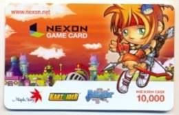 Nexon Card For Game Online  U.S.A.,  Card For Colletion Without Value # 251 - Gift Cards