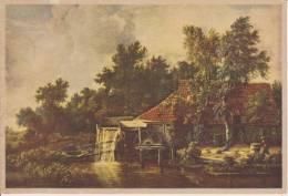 (AKE 98) Esperanto Card Hobbema Water Mills - Akva Muelejo - Moulin à Eau - Esperanto