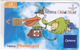 Australia, 02005011N, Telstra Child Flight (Exp.Jul.05), Mint In Blister, 2 Scans. - Australia