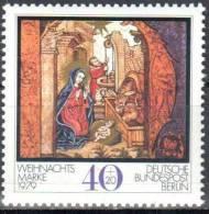 Berlin 1979 Christmas Art Initials  Mi.613 -  MNH (**) - [5] Berlino