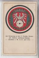 SPORT - SCHÜTZEN - 17.Deutsches Bundes- Und Goldenes Jubiläums-Schiessen, Frankfurt 1912 - Waffenschiessen