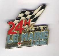 Pin's  LE MANS 19/20 JUIN 93 MAINE LIBRE - Automobile - F1