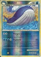 CARTE POKEMON WAILORD BRILLANTE 31/102 NEUVE - Pokemon