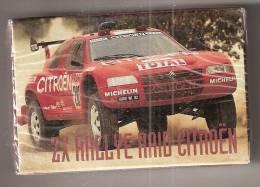 Jeu De52 Cartes Citroen Sous Blister   Zx Rallye Raid Citroen - Non Classificati