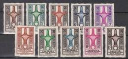 GHADAMES Nos 1/8+PA Nos 1/2 , Neufs,**, Sans Charniere, Luxe, ( Cote: 97.00 Euro ). - Ongebruikt