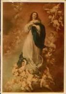 Cartolina LA CONCEPTION IMMACULLEE DE LA VIERGE (Murillo) 1942 - F1 - Pittura & Quadri