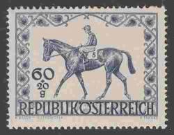 ÖSTERREICH AUSTRIA 1947 ANK 837 PFERDE - 1945-.... 2de Republiek