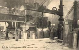 BELGIQUE - LA METALLURGIE - Coulée Des Lingots D'Acier.(n°19). - Industry