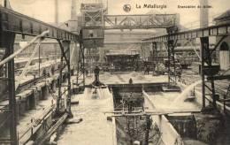 BELGIQUE - LA METALLURGIE - Granulationdu Laitier.(n°12). - Industry