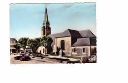 29 Bannalec , église Et Son Jardin , Vieille Automobile , N°20 Edit Gaby - Bannalec
