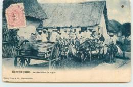 BARRANQUILLA  - Vendedores De Agua. - Colombia