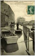 94-VILLENEUVE-Saint- GEORGES-  Inondations 1910-Rue Emile Zola-Ravitaillement - Villeneuve Saint Georges