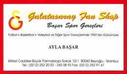 Galatasaray Fan Shop. Istanbul. Turkey - Publicidad