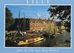 Lille - Jour De Fête Aux Bois Blancs. - Lille