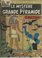"BLAKE ET MORTIMER "" LE MYSTERE DE LA GRANDE PYRAMIDE T. 1 ""  - JACOBS - E.O. 1972 DARGAUD - Blake Et Mortimer"
