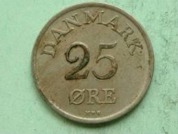 1949 - 25 ORE / KM 842.1 ( For Grade, Please See Photo ) ! - Danemark