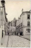 94-VILLENEUVE-Saint- GEORGES-Rue Victor Duruy-animée,Carte Précurseur Dos 1900-TBE - Villeneuve Saint Georges