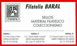 Filatelia Barral. Alcorcon. Madrid - Publicidad