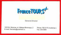 France Tours. Tour Operator. Travel Agency. Moscow. Russia - Sin Clasificación